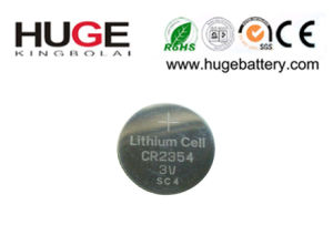 3.0V Lithium Button Cell Battery (CR2354) pictures & photos
