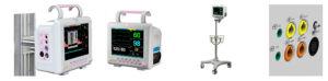 New Arrival 8 Inch Portable Multi-Parameter Patient Monitor PT-601d pictures & photos