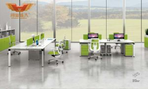 Modern Wooden Office Partition Workstation Office Furniture (H50-0203) pictures & photos