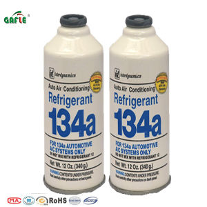 Gafle/OEM High Performance Two-Piece Can Refrigerant R134A Refrigerant Gas pictures & photos