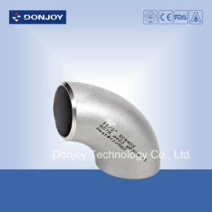 Industrial Weld Elbow Pipe Fitting 90 Degree Stainless Steel pictures & photos