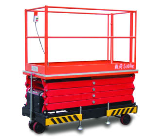 500kg Scissor Type Aerial Working Platform for Coffin pictures & photos
