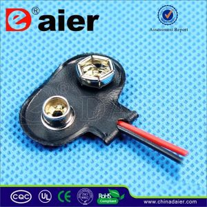 9V Battery Battery Holder Clip Connector pictures & photos