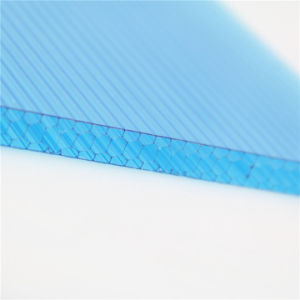 Hot Sale Polycarbonate Honeycomb Panels Used in Greenhouse pictures & photos