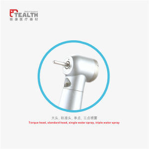 Tealth High Speed E-Generator LED Push Button Dental Turbine Handpiece pictures & photos