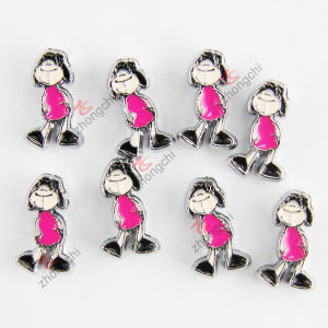 Cute Girls Metal Slide Charm Fashion Jewelry (JP08-662)