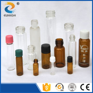 Customized Clear Amber Medicine Glass Vials in Different Size