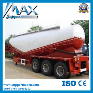 3 Axle Bulk Cement Semi Trailer with Tractor pictures & photos