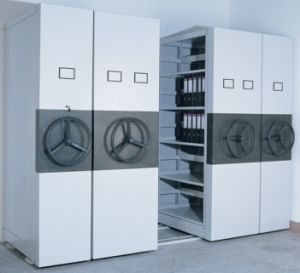 High Density Mechanical Mobile Shelving Systems pictures & photos