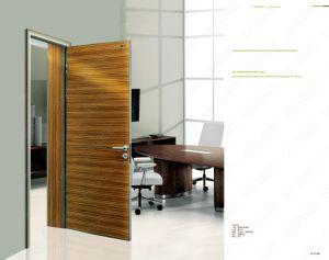 Professional Design Wood Door Models, Purple Color Door, Ready Made Doors pictures & photos