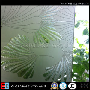 Acid Etched/Printed/Patterned/ for Decoration Glass (AD40) pictures & photos