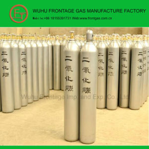 5n Purity Seamless Steel Cylinder CO2 pictures & photos