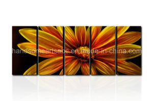 New Sunflower Design Simple Aluminum Hangind Wall Arts/ Picture/Craft pictures & photos