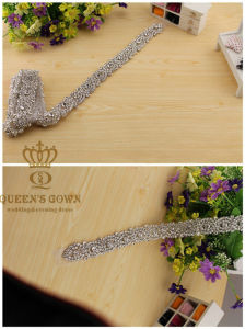 Handmade Beaded Wedding Dress Rhinestone Belt, Factory Direct pictures & photos