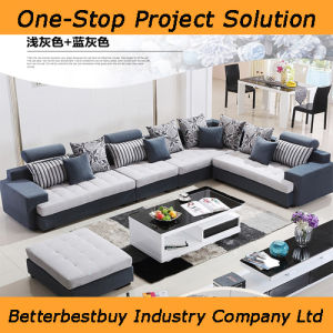 L Shape Sofa with Armrest pictures & photos