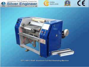 Aluminum Foil Rewinder (SEFJ-500-2) Product Machine pictures & photos