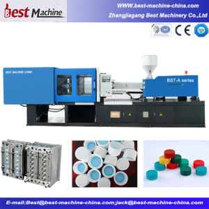 Horizontal High Capacity Plastic Bottle Caps Injection Moulding Making Machine with Factory Price pictures & photos