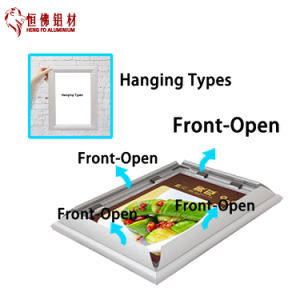 Clip Aluminum Photo Frame Picture Frame pictures & photos