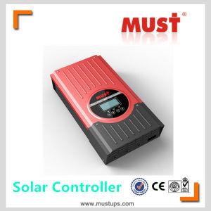 Must PC1600f Series 45A, 60A 12V/24V/36V/48V Auto Work MPPT Solar Controller pictures & photos