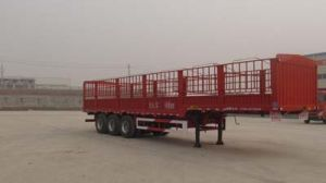 12.5m 3axles Warehouse Semi-Trailer / Stake Semitrailer