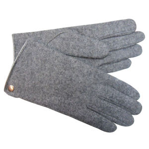 Men′s Fashion Wool Knitted Winter Warm Dress Gloves (YKY5436) pictures & photos