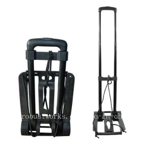 Portable Luggage Cart with Bungee Cord (HT025) pictures & photos