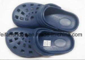 Men Leisure Slippers Sandals Garden Shoes with Comfortable EVA (FFGS-03) pictures & photos