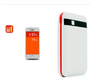 Built-in Cable Power Bank 8000mAh Li-Polymer Battery pictures & photos