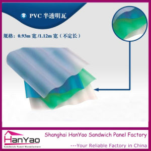Translucent PVC Roof Tiles for Canopy pictures & photos