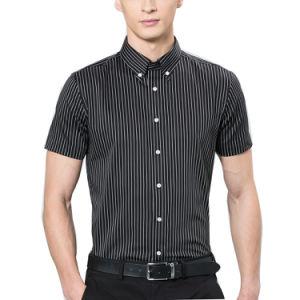 Factory OEM California Shirt for Cheap CVC Button Shirt pictures & photos