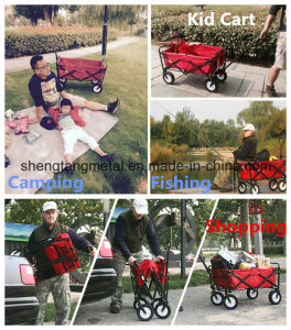 Beach Wagon Tools Usage and Stainless Steel Material Beach Cart pictures & photos
