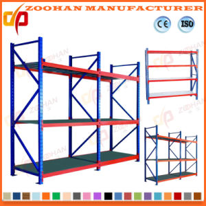 Middle Duty Metal Warehouse Storage Rack Shelves (ZHr386) pictures & photos