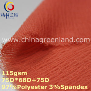 Spandex Polyester Chiffon Plain Fabric for T-Shirt Dress (GLLML359) pictures & photos