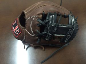Professional Black Baseball Glove (02) pictures & photos