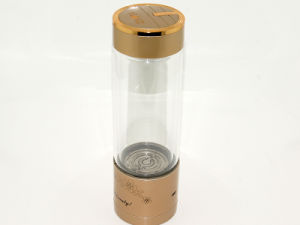 Wholesale Hydrogen Water Maker, Gold Color Water Cup, Portable Glass Water Bottle pictures & photos