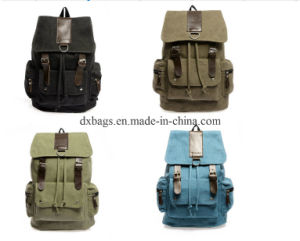 Promotional High Quality Canvas Backpack Bag, Rucksack pictures & photos