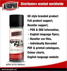 Aeropak High Closs Spray Paint Fast Dry pictures & photos