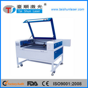 Printing Fabric Trademark CO2 Laser Cutting Machine with CCD pictures & photos