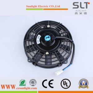 Excited DC Electric Motor Fan with Plastic Housing pictures & photos