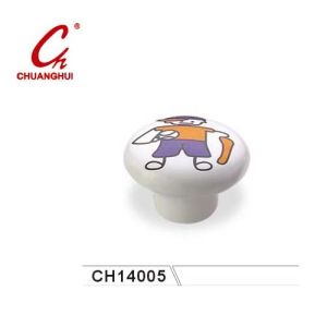 Ceramic Knob Handles with Catoon Boy Pattern (CH14005) pictures & photos
