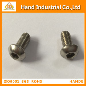 316 Stainless Steel Button Head Cap Screw pictures & photos