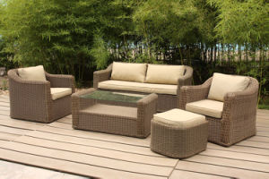 European Rattan Outdoor Furniture for Hotel Lobby and Villa (FS-2981+2982+2983+2984) pictures & photos