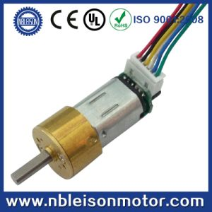 3V 6V Micro Metal DC Gear Motor with Encoder for Door Lock and Robot pictures & photos