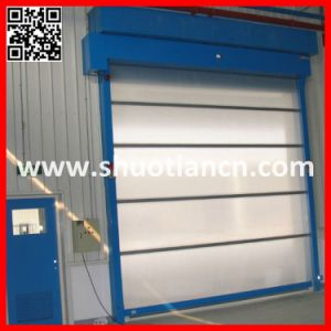 Plastic Fast Rolling High Speed Automatic Roll Door (ST-001) pictures & photos