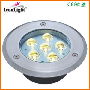 Hot Sale 6*1W LED Underground Path Light for Outdoor Garden pictures & photos