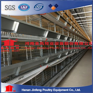 China Layer Chicken Rearing Cage H Type Poultry Cage Equipment pictures & photos