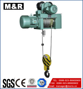 Hot Selling Electric Wire Hoist with Double Hook pictures & photos