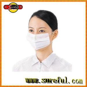 High Quality Low Price Disposable Face Mask with Earloop 3ply Non Woven pictures & photos