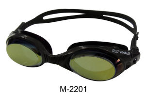 Mirrored Swimming Glasses (M-2200) pictures & photos