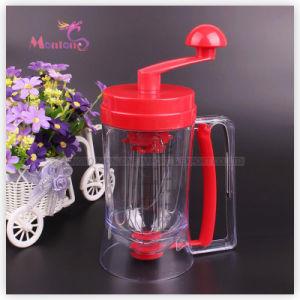 29*11cm Cake Batter Mixer and Dispenser, Manual Pancake Machine pictures & photos